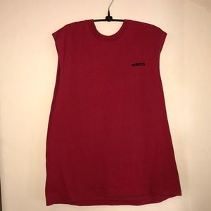 Adidas | Red Muscle Tee